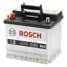 Аккумулятор   45Ah-12v BOSCH (S3003) (207x175x190),L,EN400
