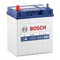 Аккумулятор   40Ah-12v BOSCH (S4019) (187x127x227),L,EN330 (Азия) тонк.клеммы